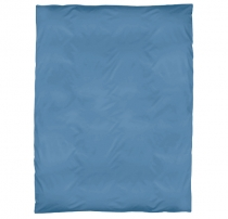 Housse de duvet, bleu brillant