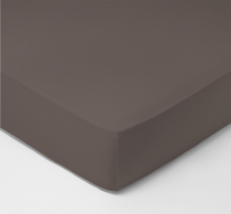 Drap-housse, graphite 25cm